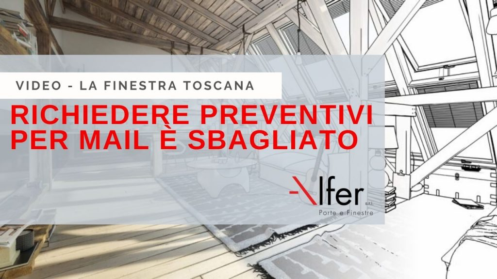 preventivi per mail serramenti